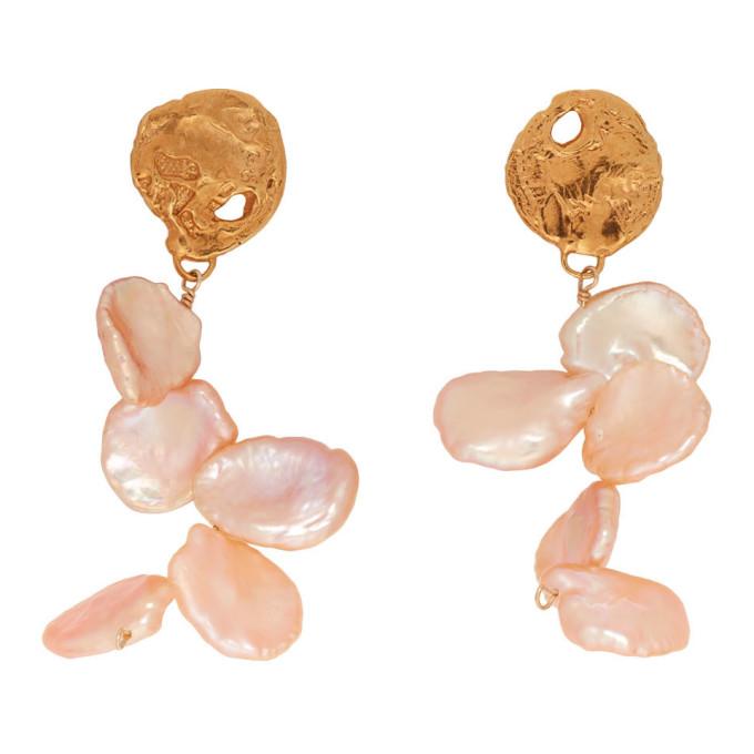 Image of Alighieri Gold 'La Jetée' Earrings