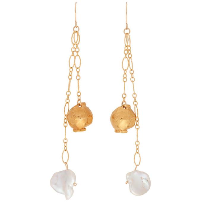Alighieri Gold 'The Moon Fever' Earrings