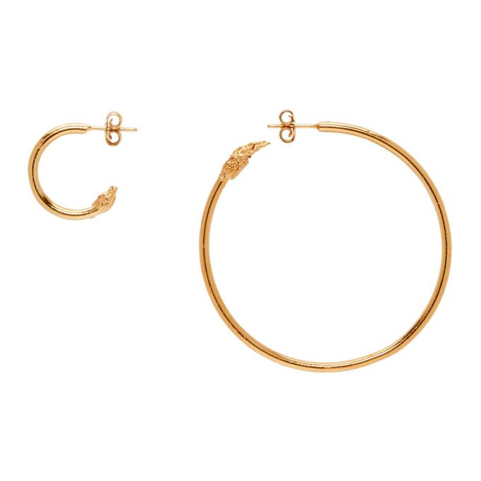 Image of Alighieri Gold Il Leone Earrings
