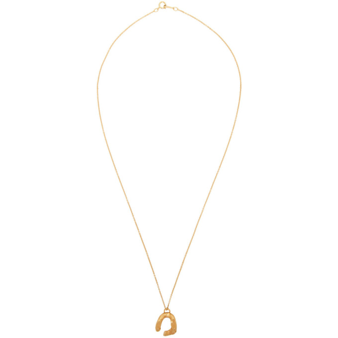 Image of Alighieri Gold 'The Flashback' Necklace