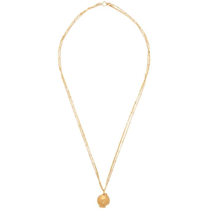 Alighieri Gold 'The Unreasonable Imagination' Necklace