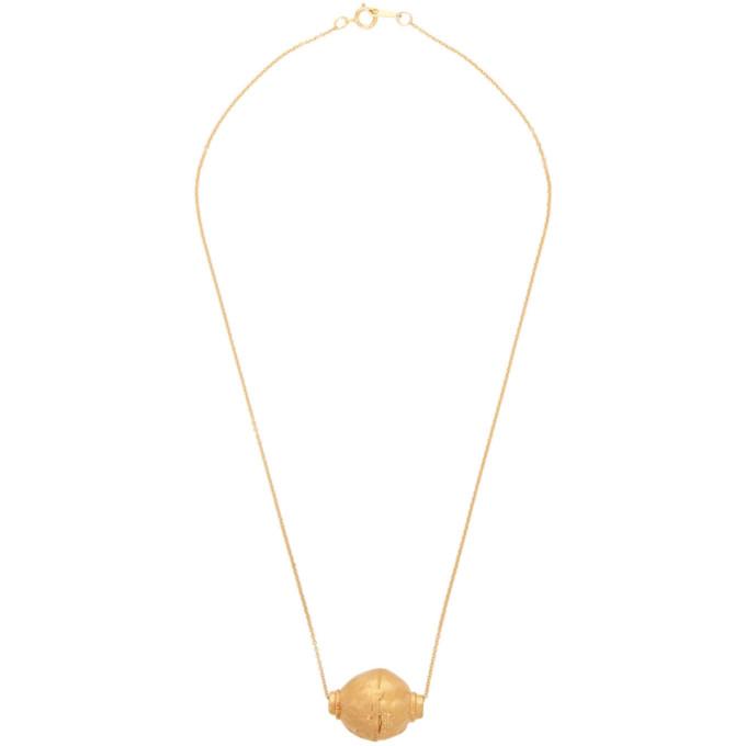 Alighieri Gold The Vessel of Memories Necklace