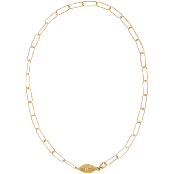 Alighieri Gold Lincognito Choker Necklace