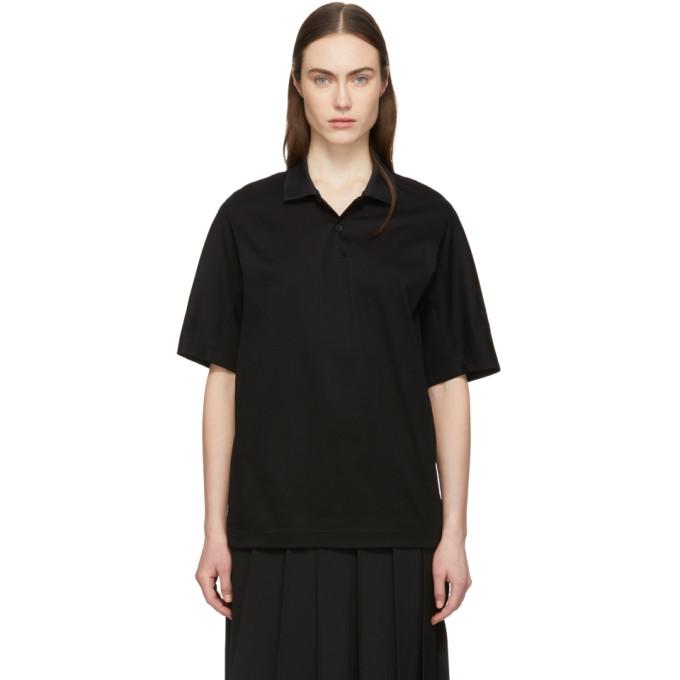 Y-3 | Y-3 Black Organic New Classic Polo | Goxip