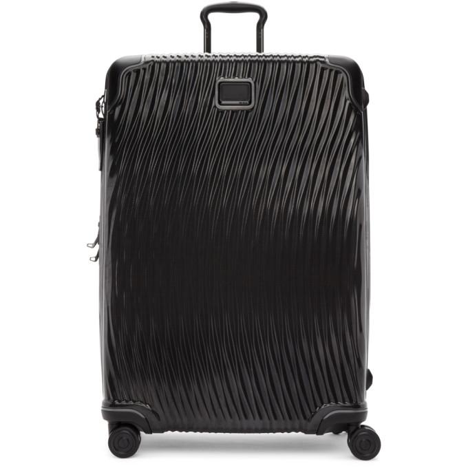 Tumi Black Latitude Worldwide Trip Packing Suitcase