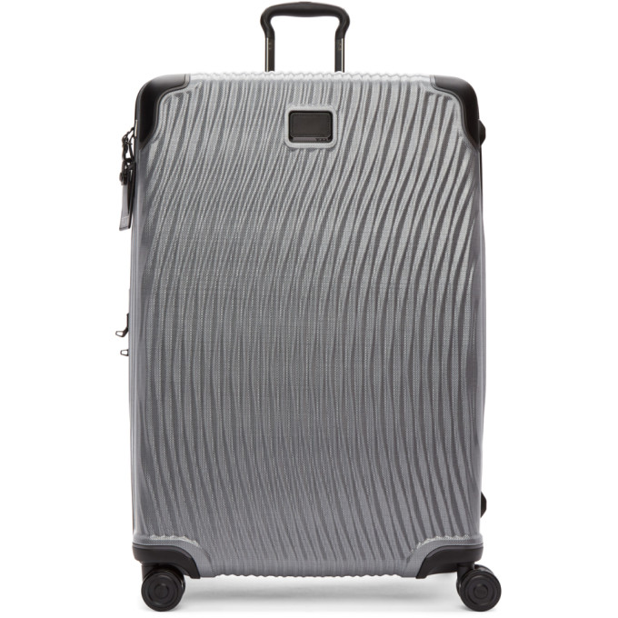 Tumi Silver Latitude Worldwide Trip Packing Suitcase