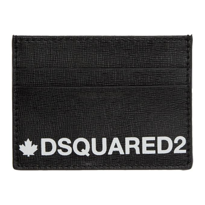Dsquared2 Black Credit Card Holder