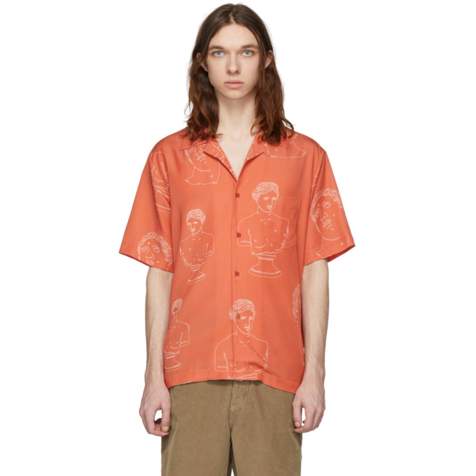 Band of Outsiders Chemise rouge Summer