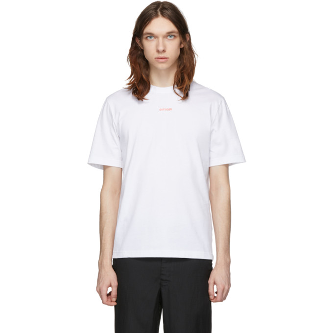 Band of Outsiders T-shirt blanc Outsider