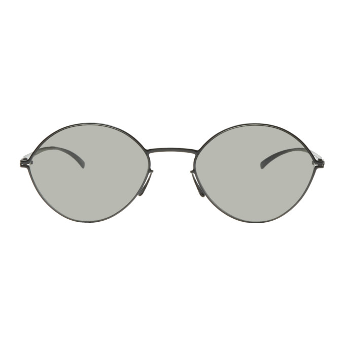 Maison Margiela Black Mykita Edition Almond Sunglasses