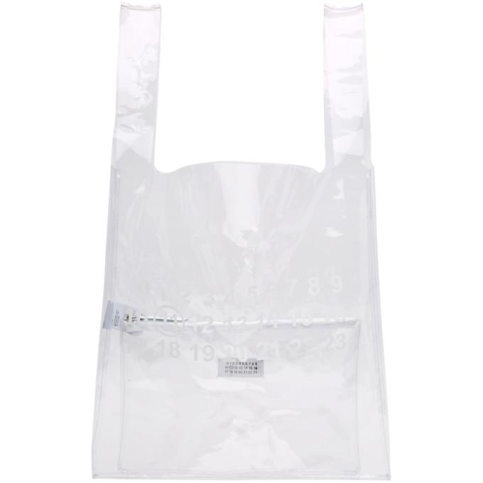 e912e7f43b5c Maison Margiela Transparent PVC Monoprix Tote