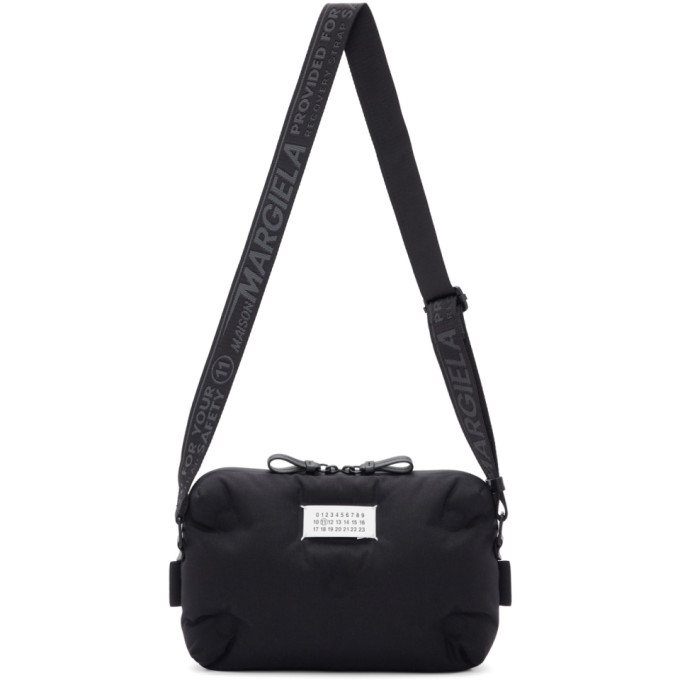 Maison Margiela Jewelry MAISON MARGIELA BLACK GLAM SLAM MESSENGER BAG