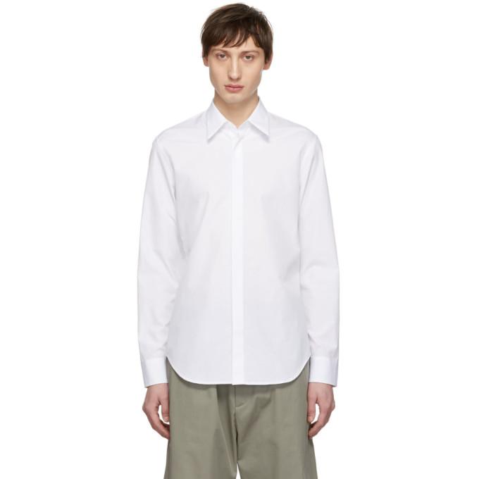 Maison Margiela ホワイト クラシック シャツ