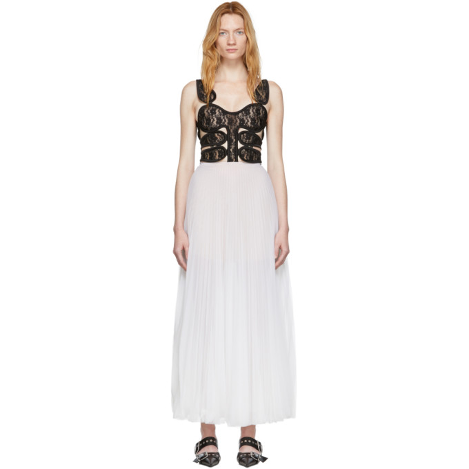Christopher Kane Off White Lace Corset Dress 191170f05500101