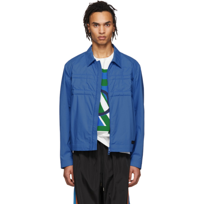 44ae8053f865 Moncler Genius Moncler Craig Green Quilted Cotton-Shell Down Jacket - Blue  In 736-