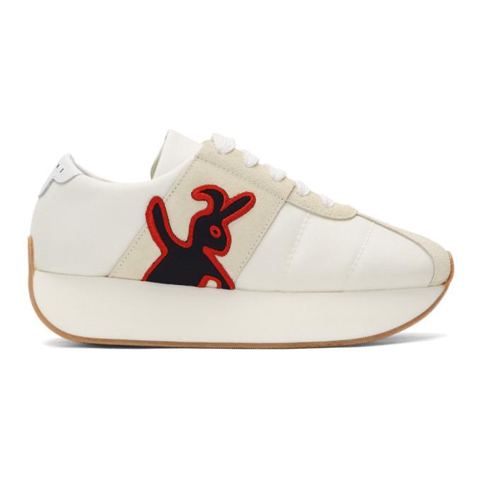 Marni Dance Bunny オフホワイト Bigfoot スニーカー