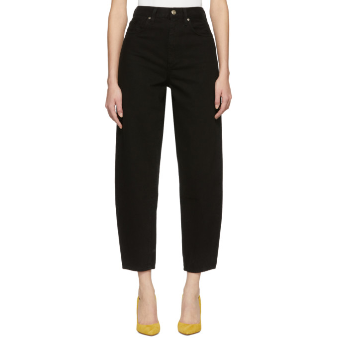 GOLDSIGN Goldsign Black The Curved Jeans