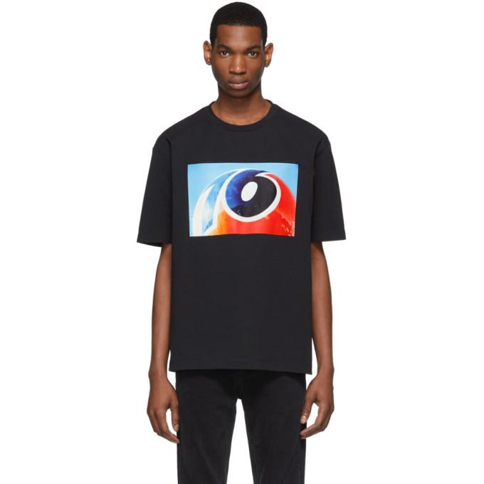 Calvin Klein Jeans Est. 1978 T-shirts CALVIN KLEIN JEANS EST. 1978 BLACK ENVIRONMENTAL COMMUNICATIONS GRAPHIC T-SHIRT
