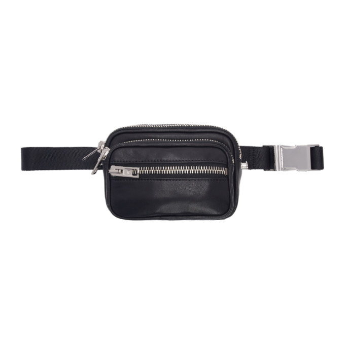 Image of Alexander Wang Black Attica Belt Bag