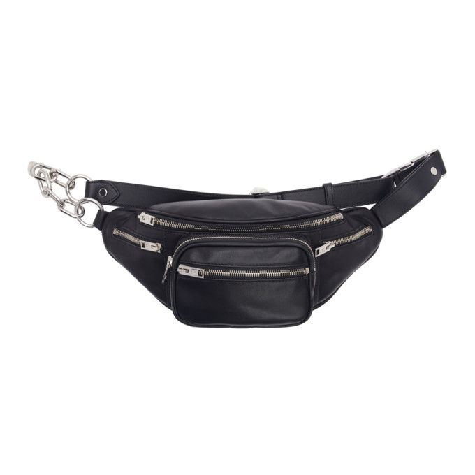 Image of Alexander Wang Black Attica Fanny Pack