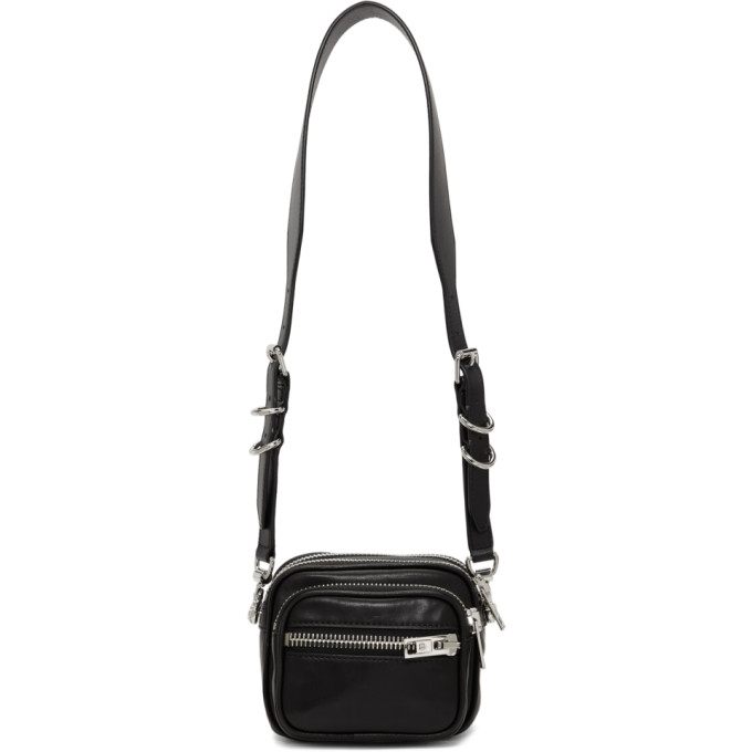 Image of Alexander Wang Black Attica Cross Body Bag