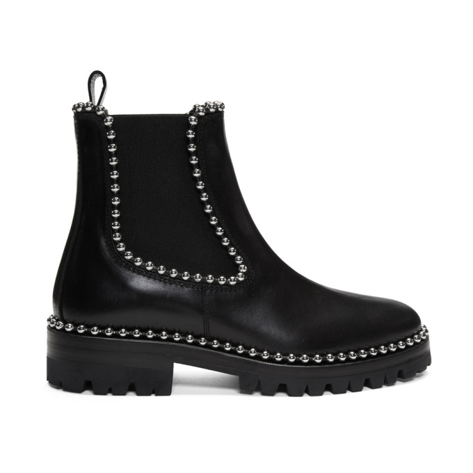 Alexander Wang Black Spencer Boots