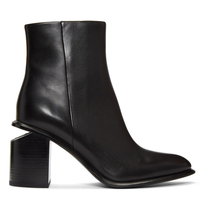 Image of Alexander Wang Black Anna Boots