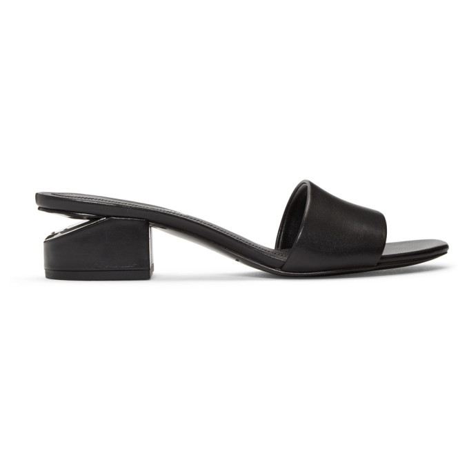 Alexander Wang Black Lou Sandals