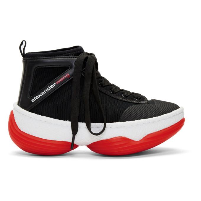 Alexander Wang Black A1 High-Top Sneakers