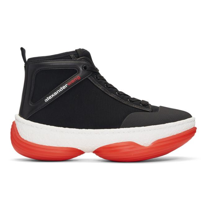 Alexander Wang Black A1 Sneakers