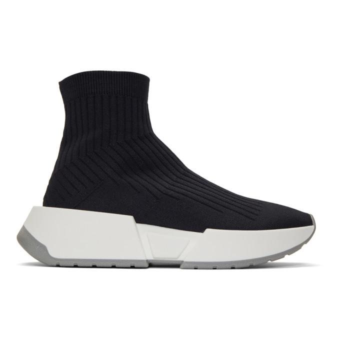 MM6 Maison Margiela Grey Sock Flare Sneakers