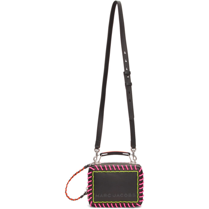 Marc Jacobs Black 'The Whipstitch Box' Bag