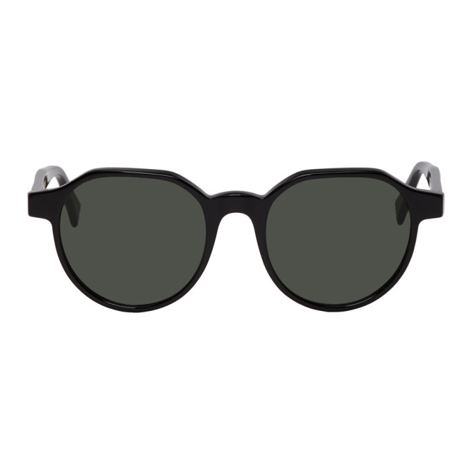 SUPER Super Black Noto Sunglasses