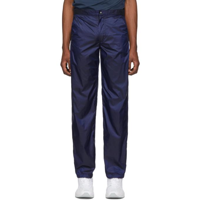 Bianca Saunders Pantalon bleu Boy