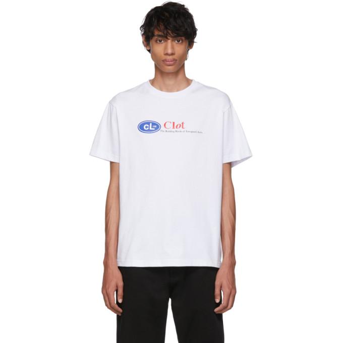 Clot T-shirt blanc Energized Aura