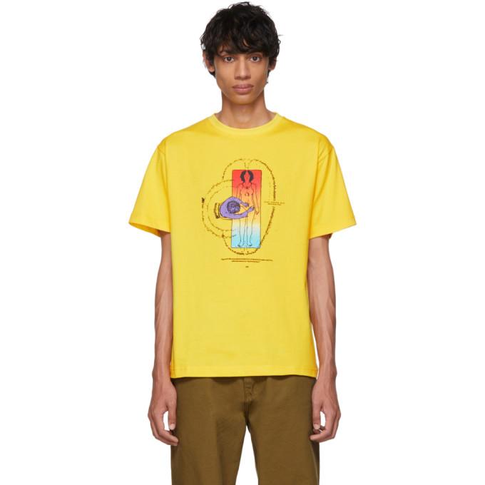 Clot T-shirt jaune Defense System