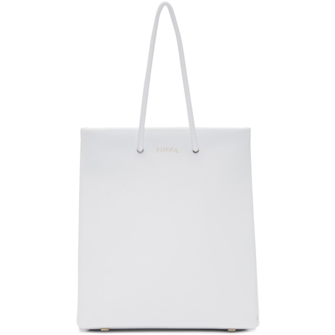 Medea White Short Prima Bag