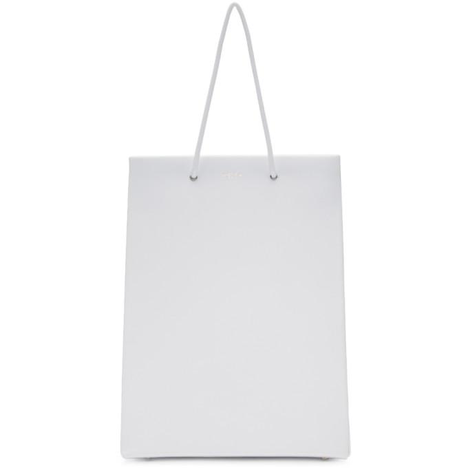 Medea White Tall Prima Bag