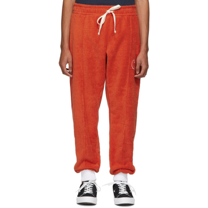 Casablanca Pantalon de survetement rouge After Sports