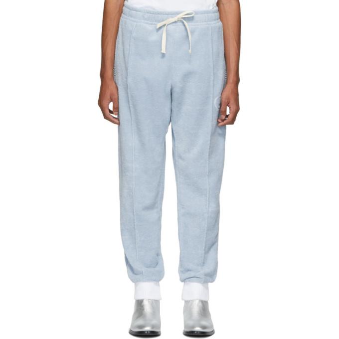 Casablanca Pantalon de survetement bleu After Sports