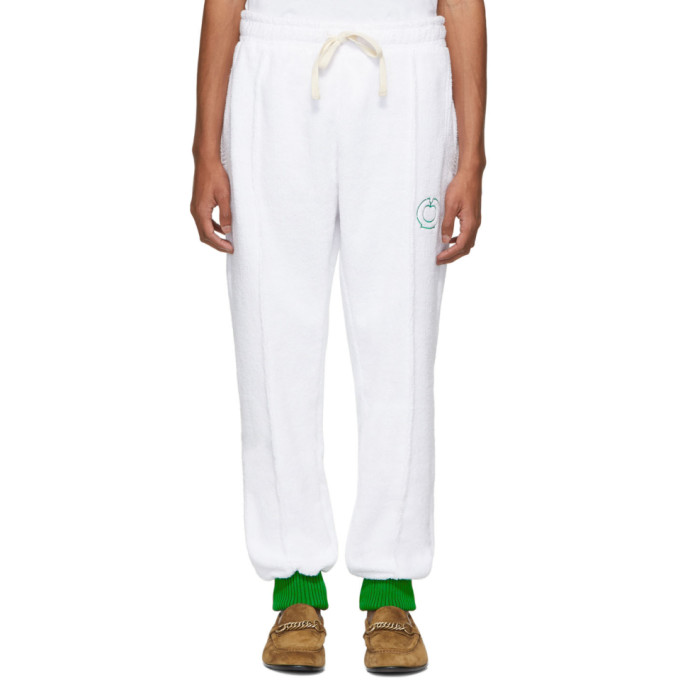 Casablanca Pantalon de survetement blanc After Sports