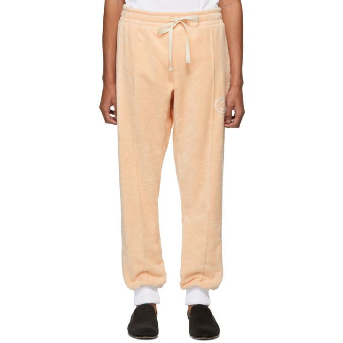 Casablanca Pantalon de survetement rose After Sports