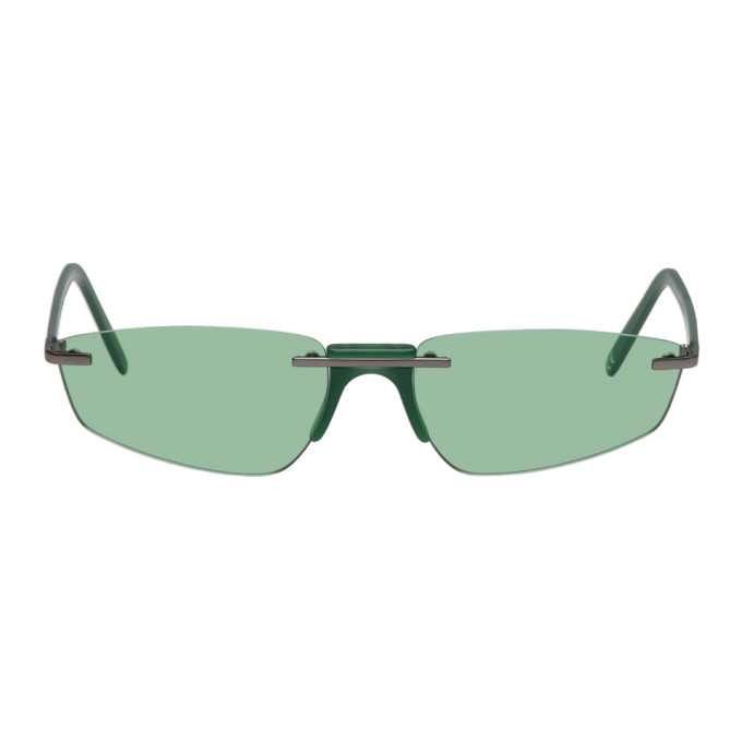 Andy Wolf Green Ophelia Sunglasses