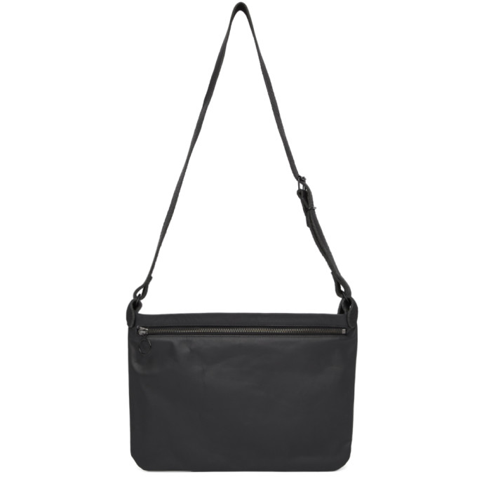 Stay Made Black Leather Side Satchel