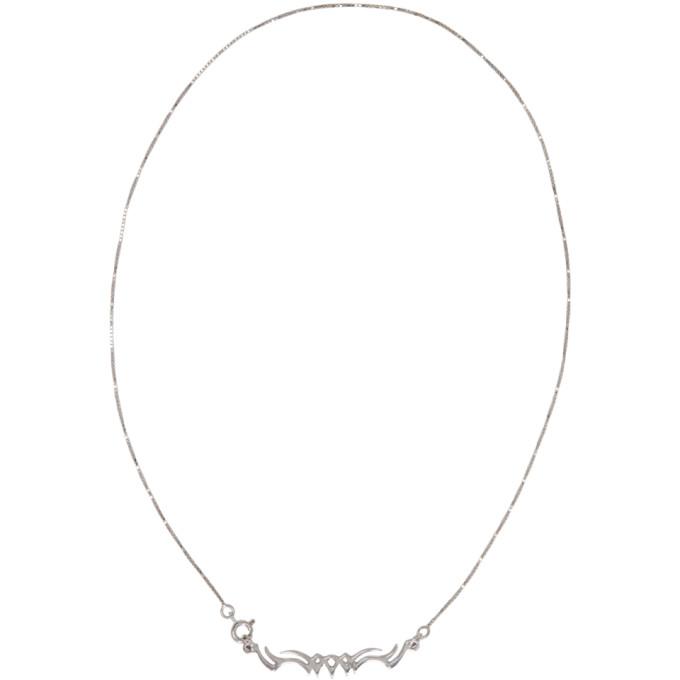 ALAN CROCETTI Alan Crocetti Silver Tribal Necklace in Strl Silver