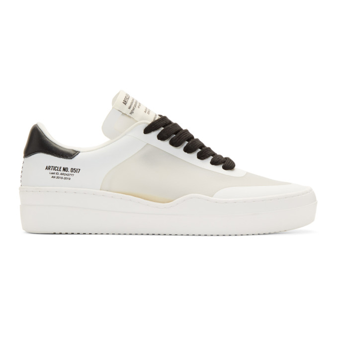Article No. White & Translucent Deconstructed 0517 Sneakers