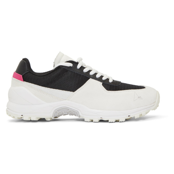 Roa Sneakers ROA OFF-WHITE AND BLACK VINCENT SNEAKERS