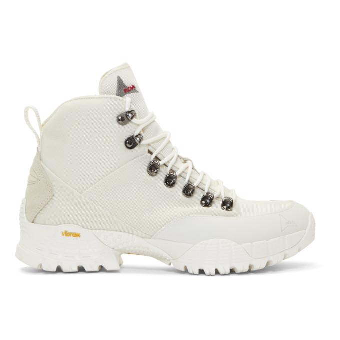 Roa Boots ROA OFF-WHITE ANDREAS BOOTS