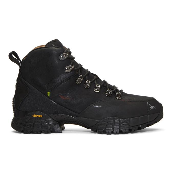 Roa Boots ROA BLACK ANDREAS BOOTS