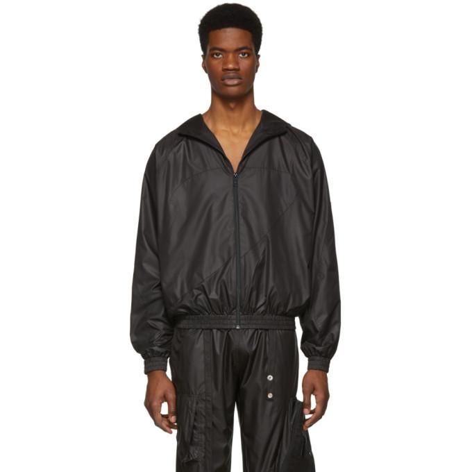 Spencer Badu Coupe-vent impermeable noir